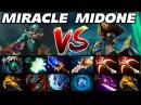 Miracle vs MidOne - INCREDIBLE BATTLE Dota 2