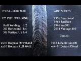 60107018 Pipe Welding - Arc Shots Vintage Welders Roll Welding position welding, etc