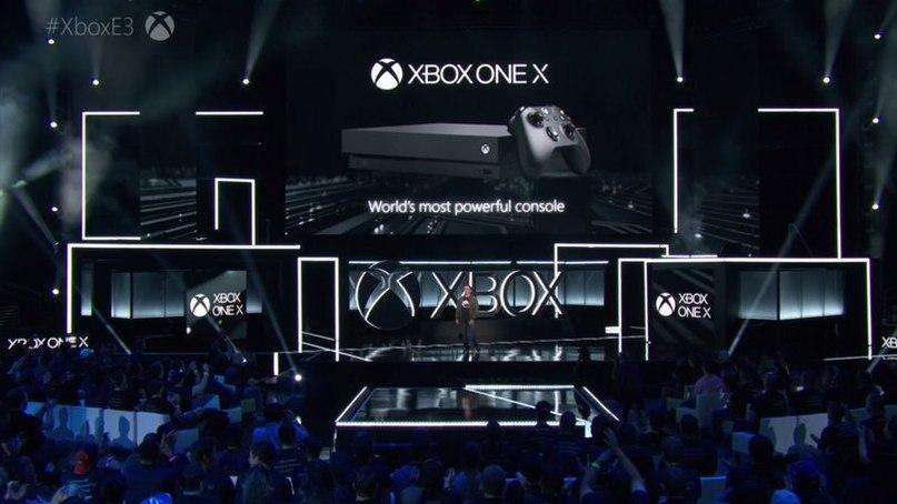Ах да, ну и новый XBOX вышел... Теперь это XBOX ONE X 😎