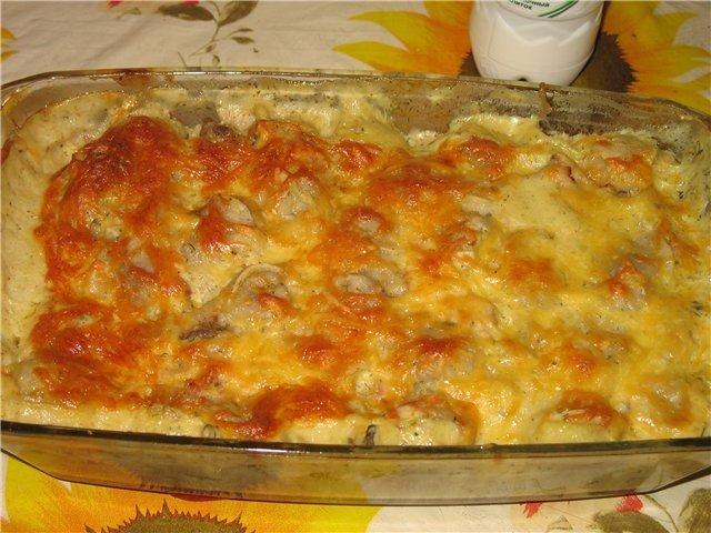 Пельмени «под шубой» Пельмени готовые, свежая морковь, сыр, майонез, репчатый лук. Замороженные пельмени,