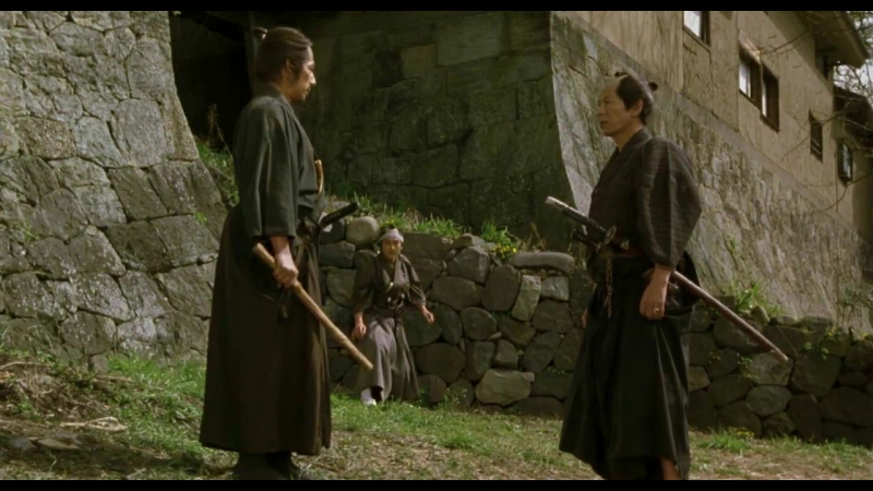 The Twilight Samurai-Fight Scene たそがれ清兵衛