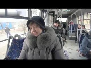 Донецк- Углегорск. 8 февраля, 2015 . Украинская армия пыталась бежать в колонне беженцев