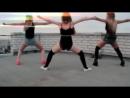 Красивый танец бути дэнс,девушки трясут задницами гоу гоу, тверк Booty dance