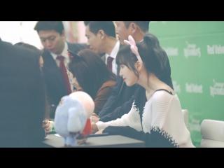 Red Velvet (Wendy) - Fan Signing [COEX Live Plaza] [Fancam 2017.01.13]
