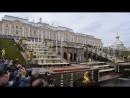 Фрагмент Открытия фонтанов в Петергофе