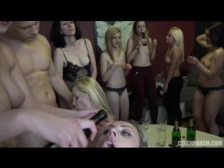 Чешская оргия 9 (czech harem 9 part 1 мжм групповуха порно gang bang bdsm чешская оргия приятного просмотра )