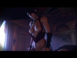 Порно видео dragon age