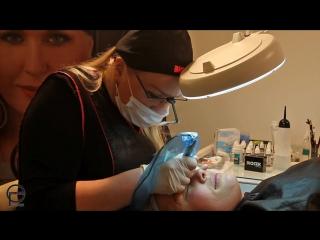 Перманентный макияж бровей в СПб у Елены Павловой - лучшего мастера в городе.