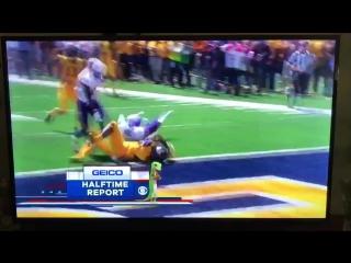 170910 EXO XIUMIN @ US college football coverage