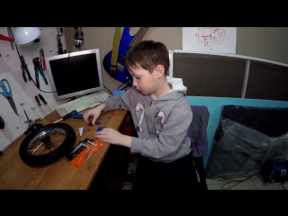 Ремонт колеса в домашних условиях
