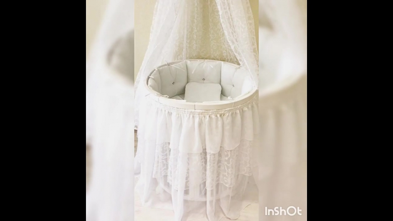Комплект в круглую и овальную кроватку