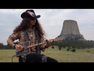 A Close Encounter with the Blues at Devils Tower, Wyoming