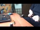 Как я делаю крючок для прошивки обуви
