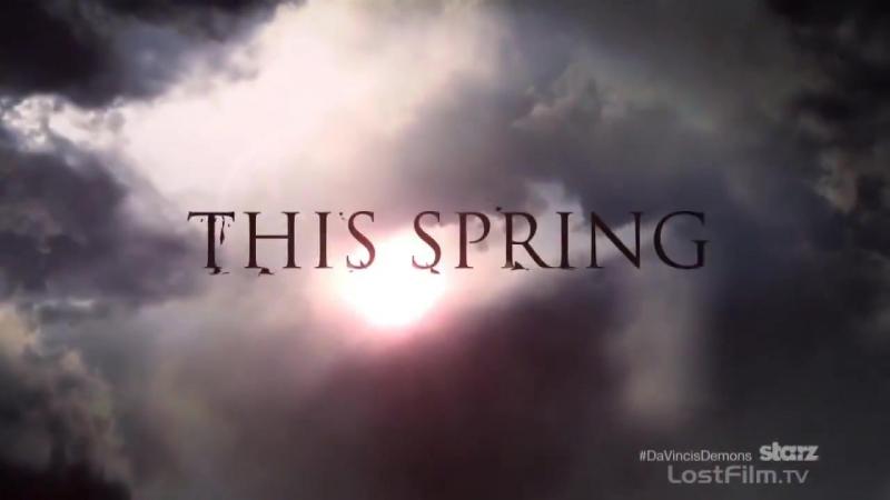 Демоны да Винчи (Da Vinci's Demons) - Озвученный трейлер ко 2 сезону.