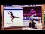 Evgenia Medvedeva and Yuzuru Hanyu ー before 2017 Rostelecom Cup (Japanese TV)