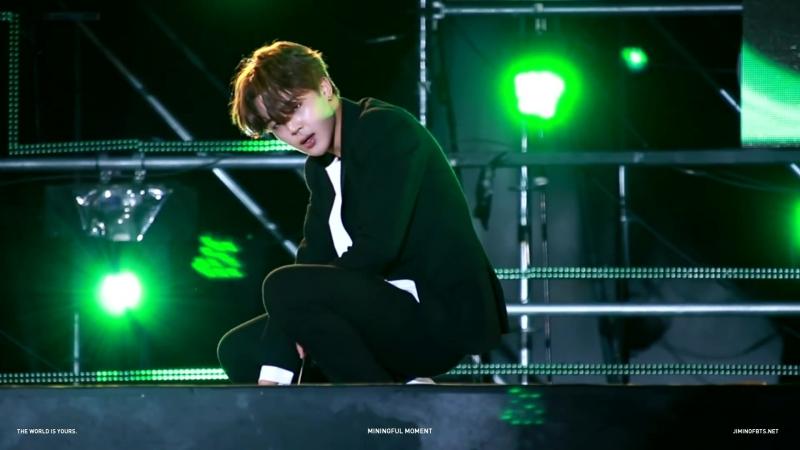 Video@bangtanru | 151003 BTS Jimin Gangwon K-POP Concert