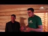 Баня 5х6 из рубленного бревна с верандой от компании Строим Дом Мечты отзыв Муса абый