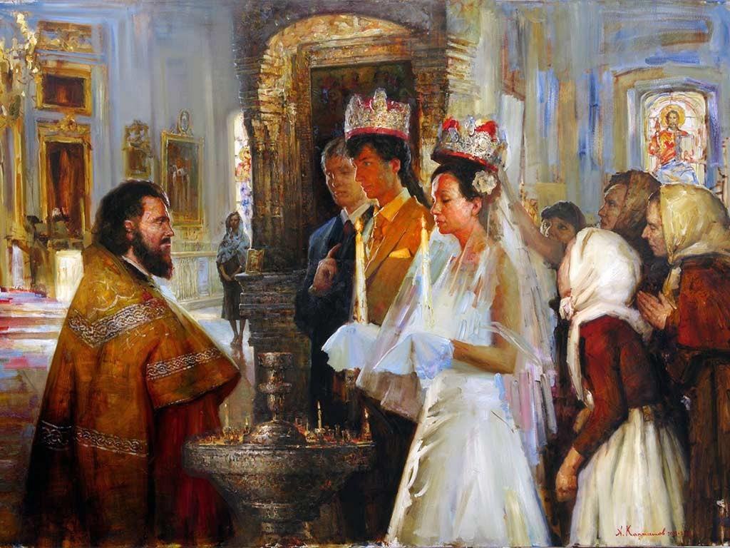 Снять одиночество с помощью венчальных свечей.  NzfLcKvOVtQ