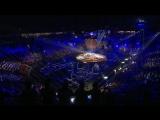 OneRepublic на церемонии открытия всемирного фестиваля молодежи и студентов.