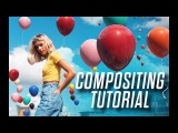 Compositing balloons onto a photo in Cinema 4D - Camera Mapping Tutorial