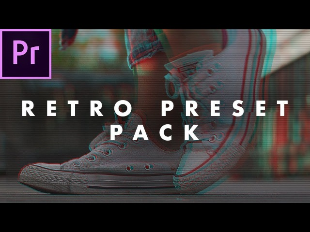FREE Retro Look Preset Pack for Adobe Premiere Pro (how to use) | Easy Tutorial