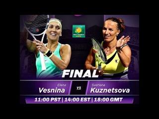 Svetlana Kuznetsova vs Elena Vesnina Highlights 2017