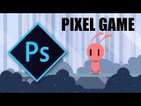 Pixel Game Art Design in Photoshop: Character animation & background tutorial