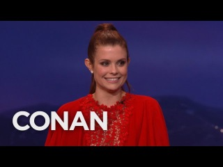 JoAnna Garcia Swisher Knows Exactly Where Her Daughter Was Conceived - CONAN on TBS