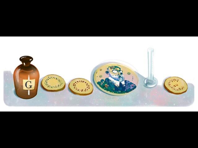 Роберт Кох , Роберт Кох Google Doodle