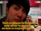 SS501 Kim Hyung Jun - Music High 16April09 Eng Sub