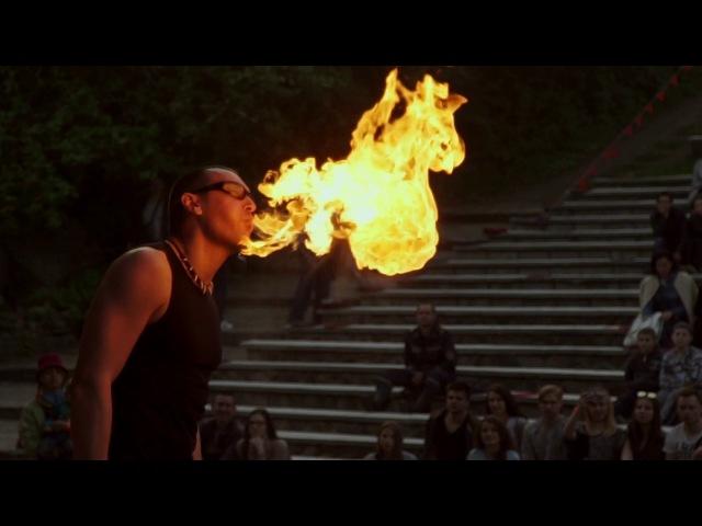 ZERG at the Fire Life Fest 2017 (Uzhgorod, Ukraine) - fire breathing