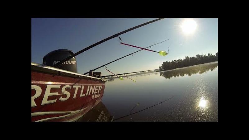 Рыбалка на снасть Убийца карася с лодки