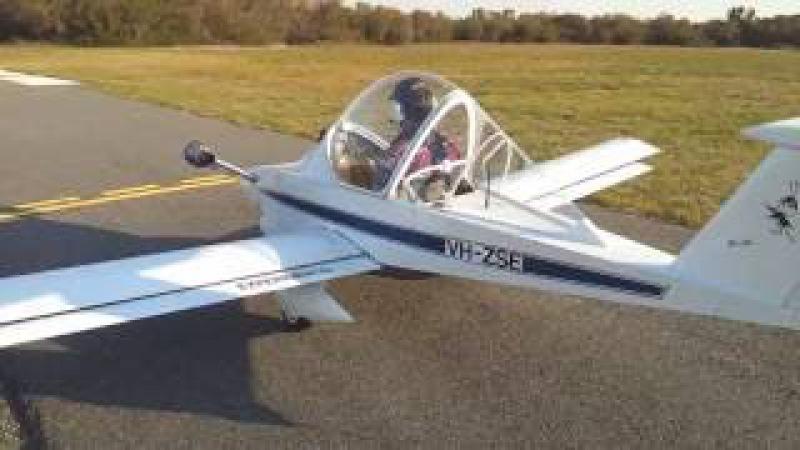 Colomban CriCri Jet Maiden Flight