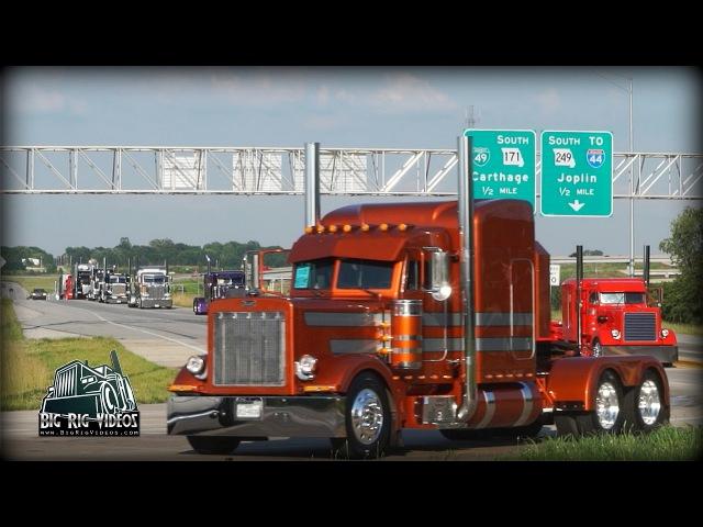 Super Rigs Convoy - Equipment Express / JL Contracting