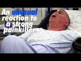 An unusual reaction to a strong painkiller...  Scotland's Superhospital
