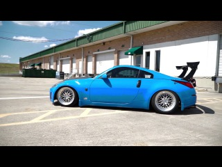Benjy Built Garage's Slammed and Static Nissan 350z!