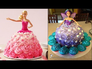 Top 5 Barbie Cake Tutorial Compilation 2017 - Cake Style - Most Satisfying Cake Styles Video