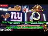 New York Giants vs. Washington Redskins  #NFL WEEK 12  Predictions Madden 18