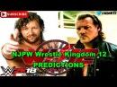 NJPW Wrestle Kingdom 12 IWGP US Heavyweight Title Kenny Omega vs. Chris Jericho Predictions WWE 2K18