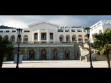 Южный берег Крыма, Большая Ялта, прогулка по парку санатория