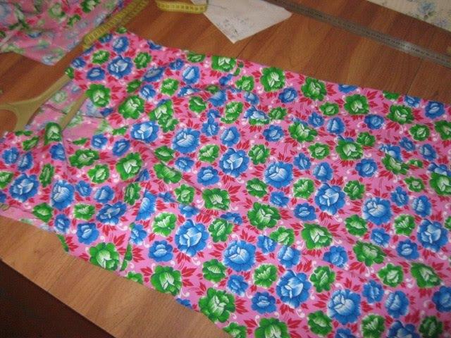 Как сшить домашний халат с запахом быстро своими руками (без выкройки) Часть 1