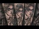RITUAL TATTOO, Нанесение тату - Tattoo in process by Alena Revolver