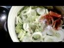 Очень вкусный салат из переросших огурцов с петрушкой на зиму Very tasty salad from overgrown cucumb