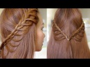 Summer Cascading Braids Hair Tutorial