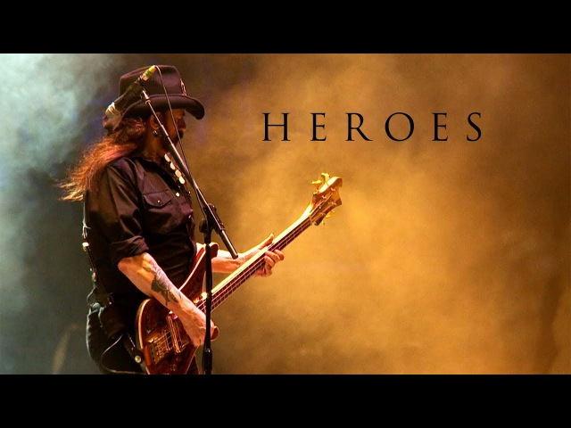 Motörhead Heroes (David Bowie Cover)
