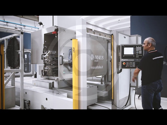 MA-2501 - CNC centre for rolling, facing, grooving and TIG orbital welding of tube bundles