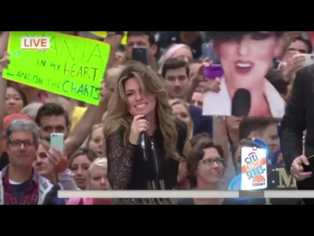 Shania Twain - Man! I Feel Like A Woman (Live, Today Show)
