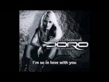 Doro Pesch - I'm in love with you (Lyrics on screen)