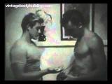 Muscle men vintage erotic movie