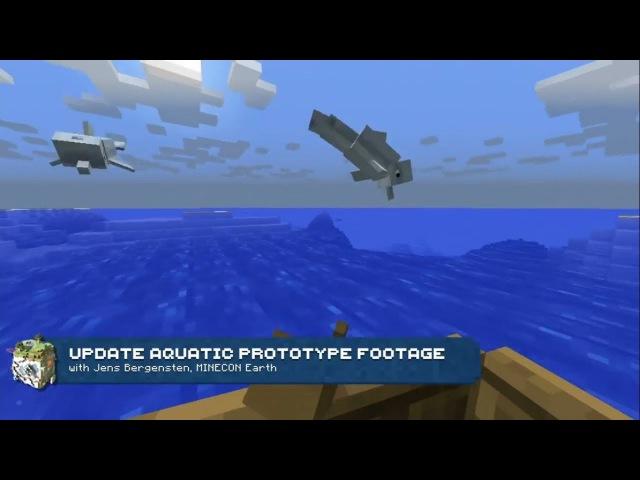 Minecraft - The Update Aquatic Trailer (HD)
